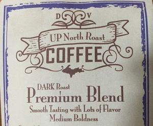 Coffee ground bag 8oz UP North Roast